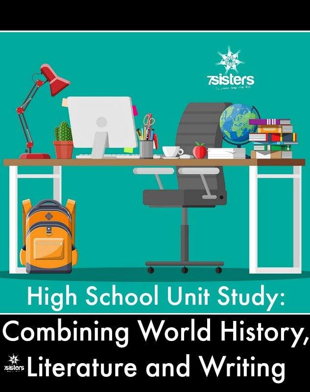 High School Unit Study: Combining World History, Literature and Writing 7SistersHomeschool.com Combine credits for powerful homeschool transcripts.