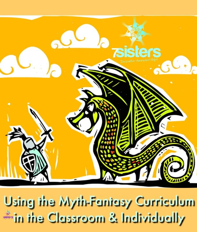 Using the Myth-Fantasy Curriculum in the Classroom Setting and Individually. Author Will Hahn explains the joys of teaching Myth-Fantasy Writing in homeschool high school co-op classes and also for teens on their own. #HomeschoolHighSchool #WritingMythFantasyHighSchool #HomeschoolLanguageArts