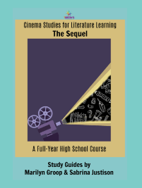 Cinema Studies for Literature Learning- the Sequel. A full year's worth of literature learning based on movies. Build a memorable Language Arts credit. #7SistersHomeschool #CinemaStudiesForLiterature #HomeschoolHighSchool #HighSchoolLiterature #MoviesFor Literature