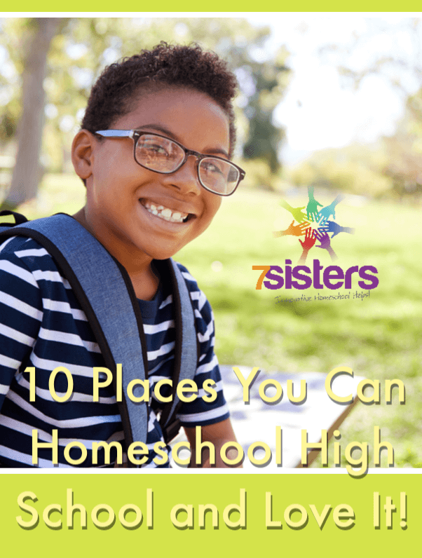 10 Places You Can Homeschool High School and Love It! There's not one right place to homeschool. So, here's a list of great places homeschoolers can learn. #HomeschoolHighSchool #HomeschoolPlanning #HomeschoolingLocation #HomeschoolSchoolroom