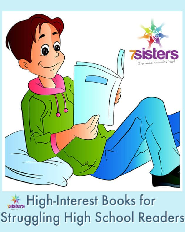 High-Interest Books for Struggling High School Readers. Reading suggestions by teens, their moms and homeschool graduates who remember the books that inspired them to read.