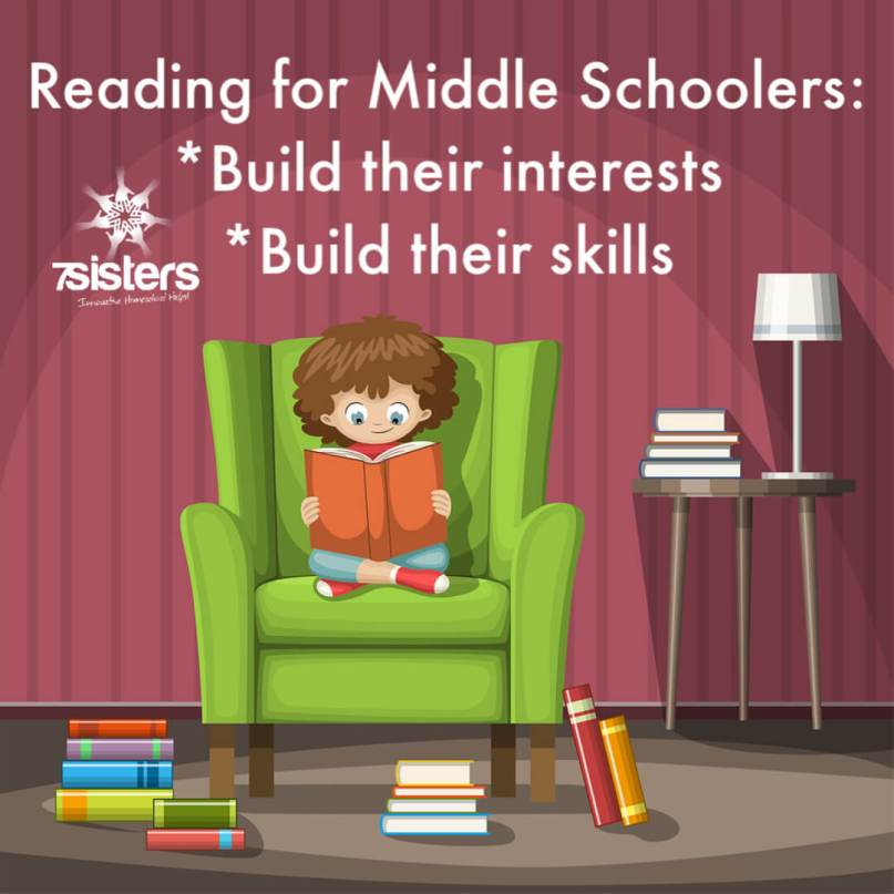 Reading for Middle School: Build their interests or their skills