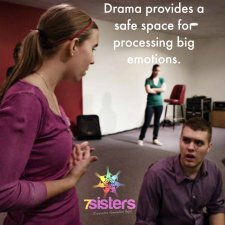 Drama provides kids a safe space for processing big emotions in times of crisis.