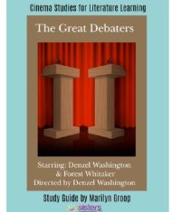 The Great Debaters Cinema Study Guide. Enhance Language Arts credits with movies for literature with this study guide. #CinemaStudiesForLiterature #MoviesForLiterature #HomeschoolLiterature #HighSchoolEnglish #7SistersHomeschool