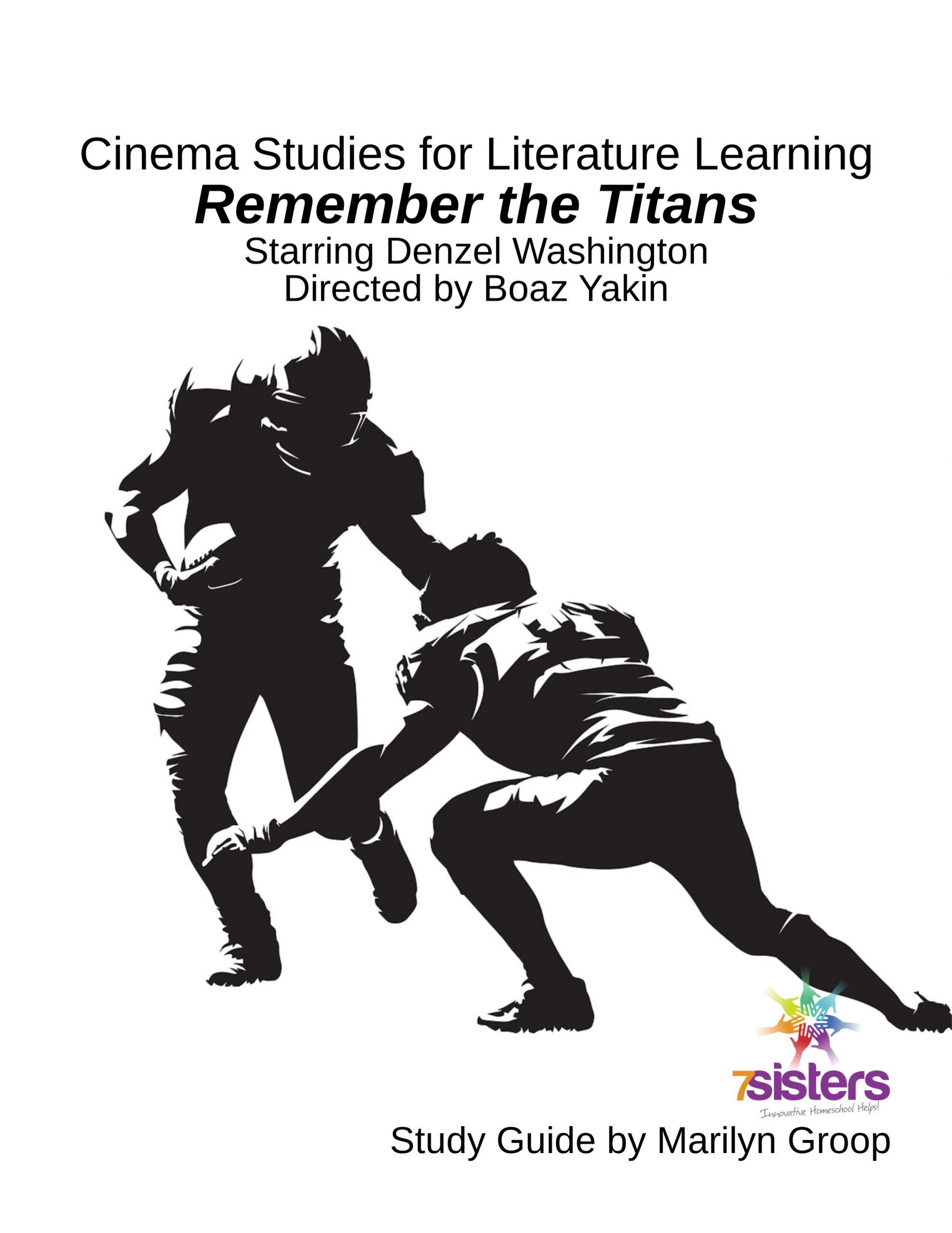 Remember The Titans Cinema Study Guide