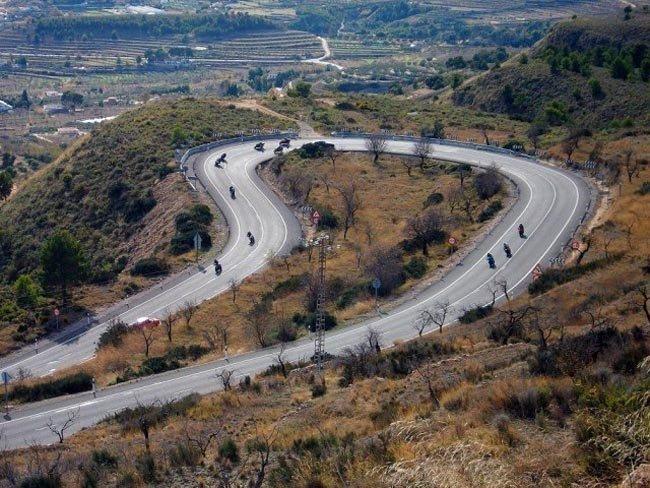 Ruta motero Alfafar