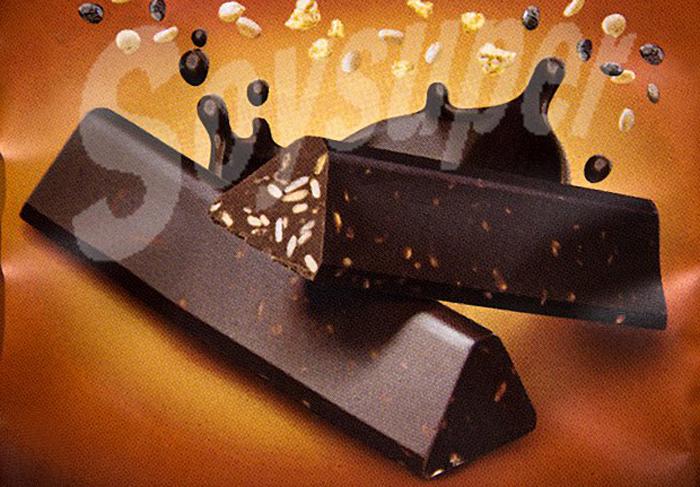 Las barritas de chocolate de Mercadona