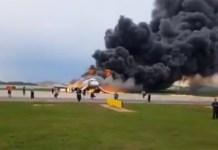 incendio en Moscú