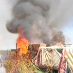 incendio en la Pista de Silla