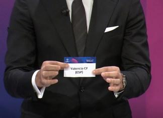 Sorteo de los octavos de la Champions League.