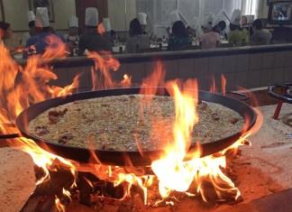 Imagen de paella a leña del restaurante Levante, Benissanó