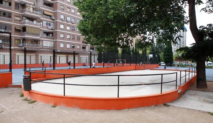 Instalación deportiva de Ciutat Jardí.