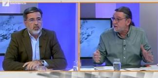 El desencuentro entre los diputados autonómicos del PP y Compromis, Alfredo Castelló y Juan Ponce, en Ágora