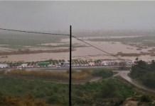 Retención de la A-7 junto al río Júicar