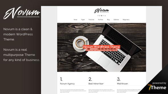 Novum Multipurpose WordPress Theme