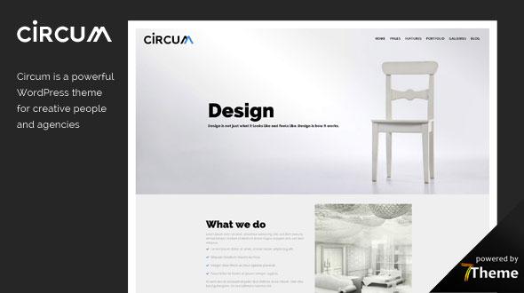 Circum Creative Agency WordPress Theme