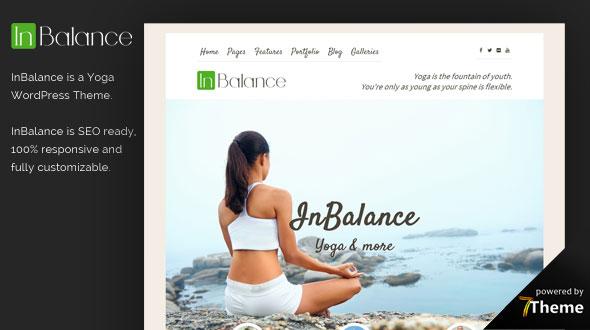 Inbalance Yoga WordPress Theme