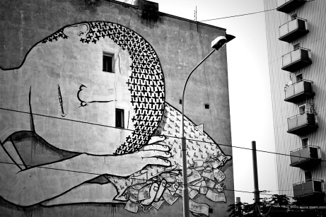 Fachada en Breslavia, Polonia © Sara Lombini