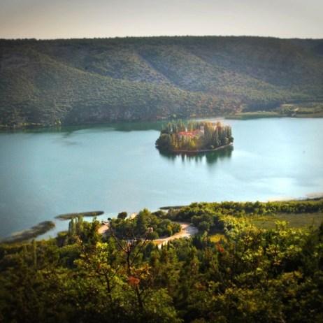 Isla Visovac, Parque natural de Krka © Adrià Valero