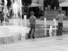 Danzar con el agua. Osijek © Ana Ferri