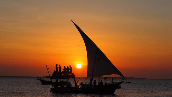 zanzibar sunset Dhow Cruise