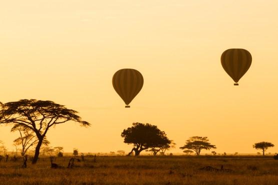 Serengeti-Balloon safari