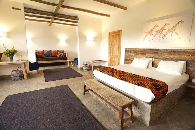family-room Arusha Villa