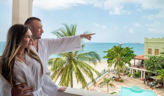 Zanzibar serena hotel Sea view