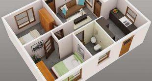 تصميم منزل دور واحد اقتصادي اجمل التصاميم العصريه للمنازل