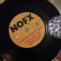 NOFX - Xmas has been x'ed  Label B