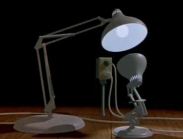 8 0fr Luxo Jr La Lampe De Chez PIXAR