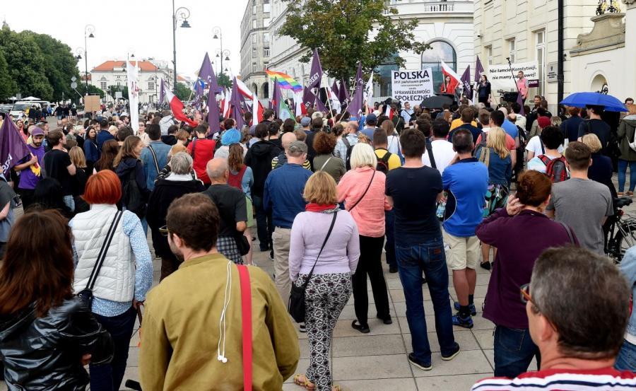 Sobotnia manifestacja pod hasłem