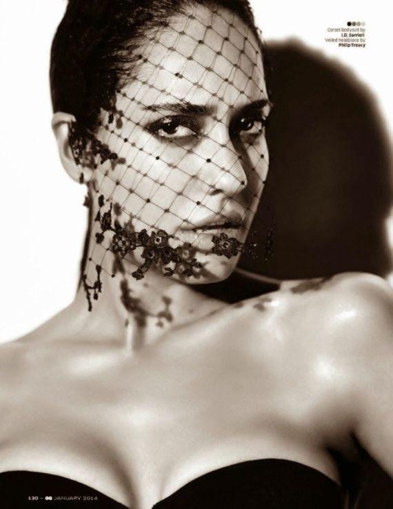Lisa Haydon Photoshoot For GQ India