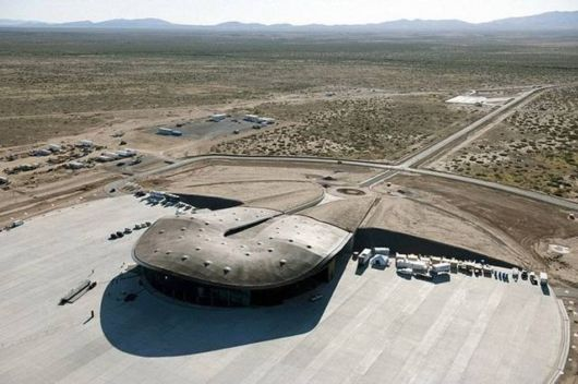 The Spaceport America In New Mexico