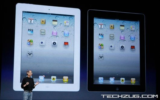 Apple Launches The iPad 2