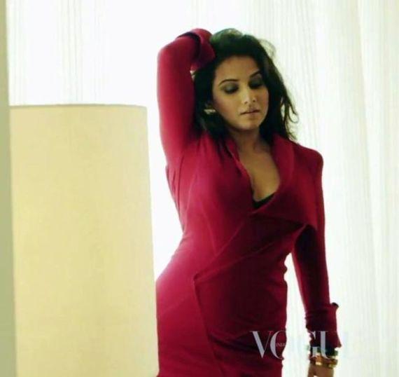 Vidya Balan For Vogue Magazine Shots