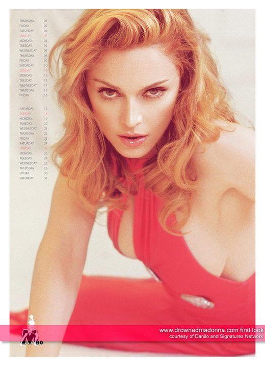Madonna 2009 Calender