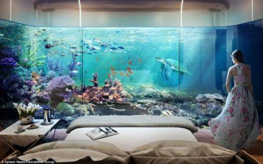 Stunning 1.8 Million Dollar Floating Seahorse Underwater Villas In Dubai