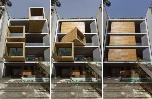 Incredible Rotating House In Tehran