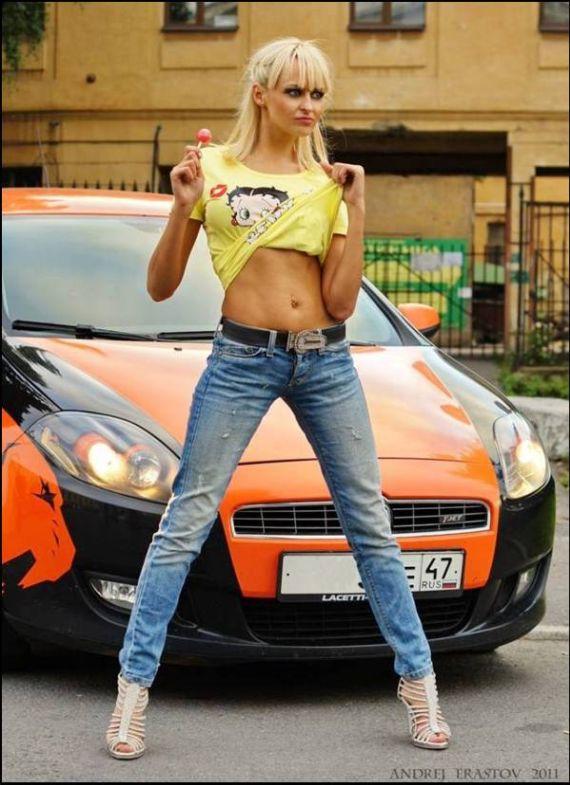 Sporty Moto Gal Emma