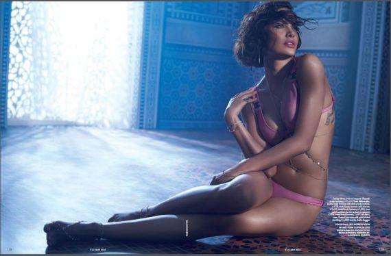 Esha Gupta Elle Magazine Photo Shoot Stills