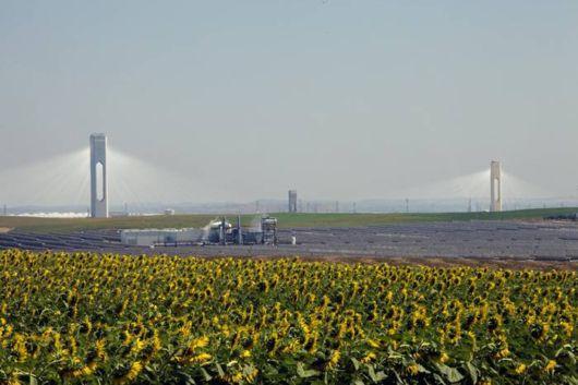 Amazing Seville's Solar Power Tower In Spain