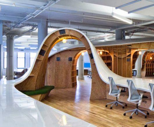 Endless Super-Desk Seats All 125 Employees