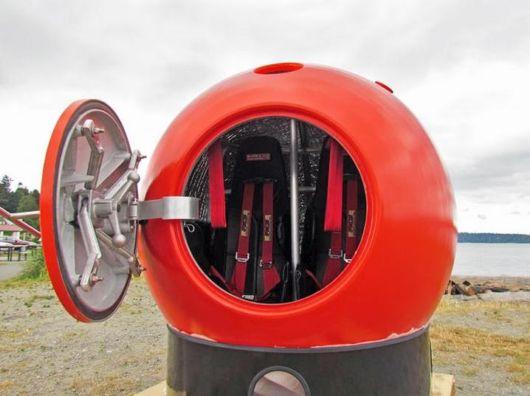 High Tech Floating Tsunami Shelter