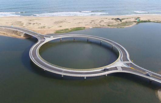 The Stunning Circular Bridge In Uruguay Is Seriously Cool