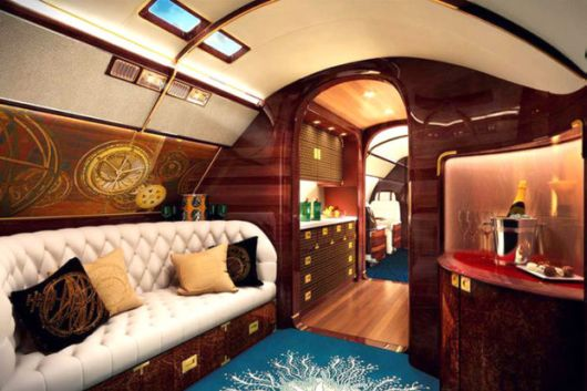 The Fabulous Worlds Most Luxurious Jet