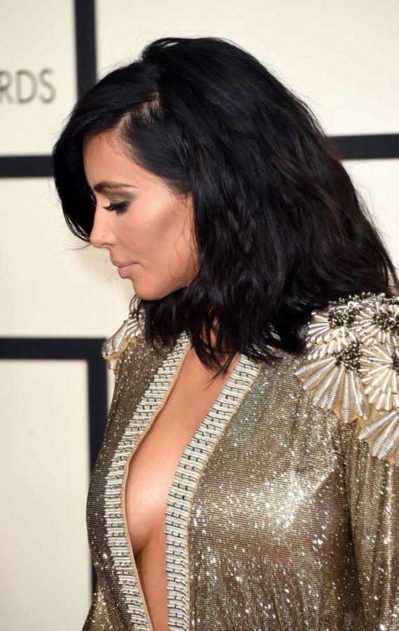 Miss Kardashian At 57th Annual Grammy Awards
