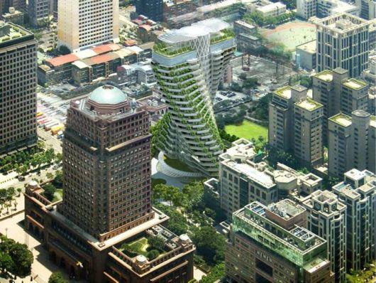 The Agora Tower In Taipei, Taiwan