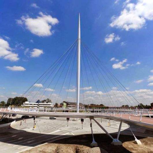 Spectacular New Floating Cycle Roundabout