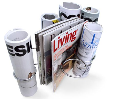 Coolest Magazine Holders And Racks